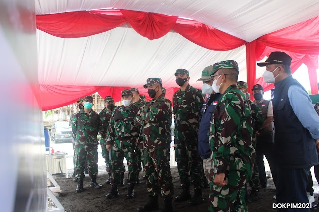 Pangdam III Siliwangi, Tinjau Lokasi Pembangunan Makodim Pangandaran