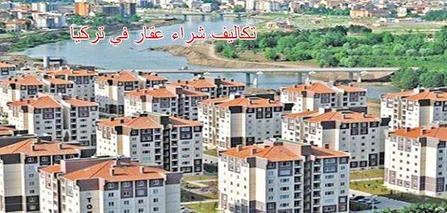 ماهي تكالف شراء عقار في تركيا
