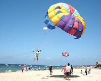 tanjung parasailing