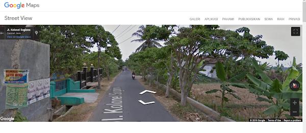 Google Street View, Cara Cepat Pulang Kampung
