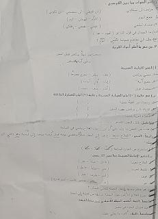 """تجميع امتحانات   للصف الرابع الإبتدائى """"الفعلى """" لغة عربية  إدارات ترم أول لتدريب عليها 81439143_2629327527299245_2529176609911472128_n"""