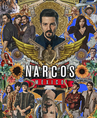 Poster de la segunda temporada de 'Narcos: México'
