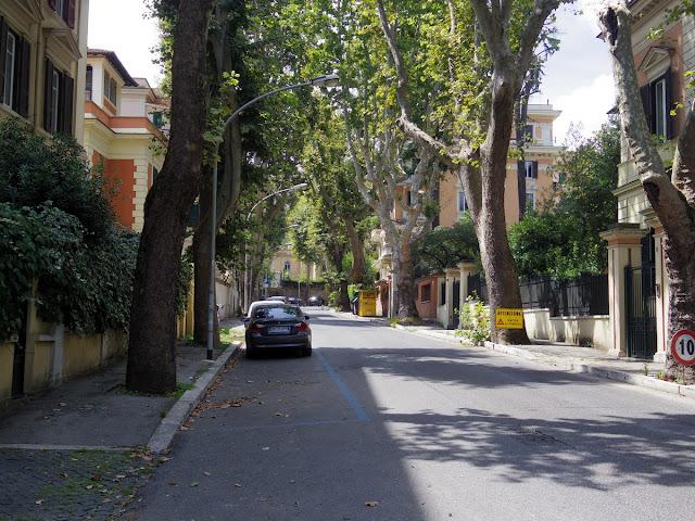 ローマのジャニコロの丘