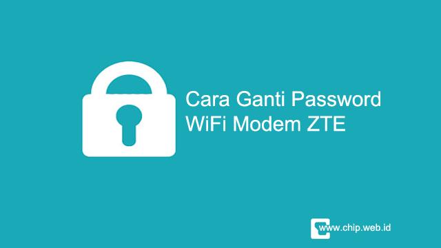 Cara Mengganti Password WiFi Indihome Modem ZTE