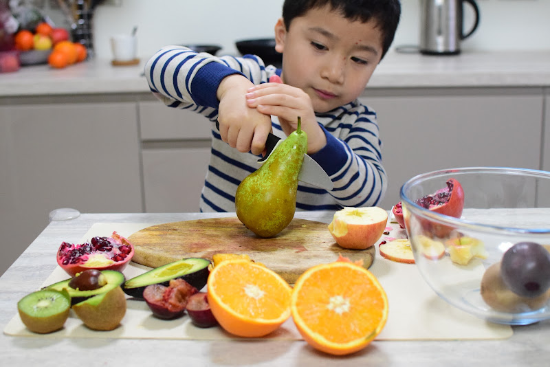 Learning About Fruits Inside and Out: Practical Life Skills