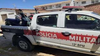 Polícia Militar age rápido e recupera moto roubada em Paulista