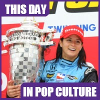 Danica Patrick won the Indy Japan 300 on April 20, 2008.