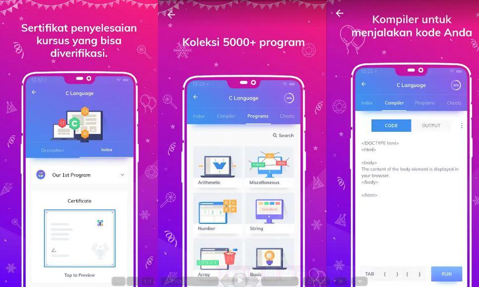 Programming Hub Adalah Aplikasi Android Untuk Belajar ...