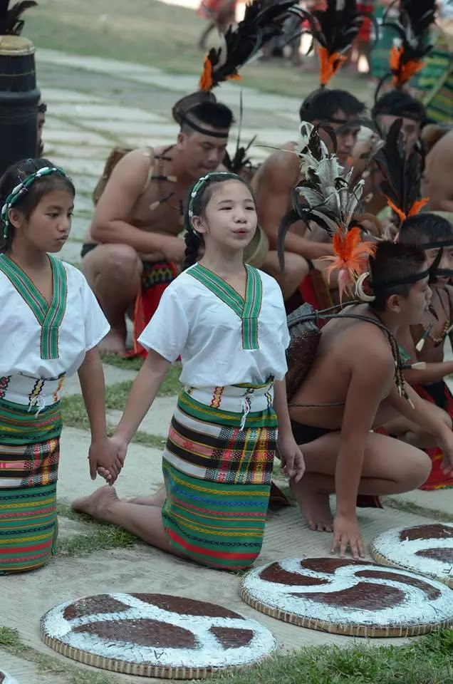 Ethno-Indigenous Youth Cultural Participants 13th Lang-Ay Festival Bontoc Mountain Province Cordillera Administrative Region Philippines