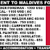 Maldives Work Permit | VISA | Accommodation | Large Opening