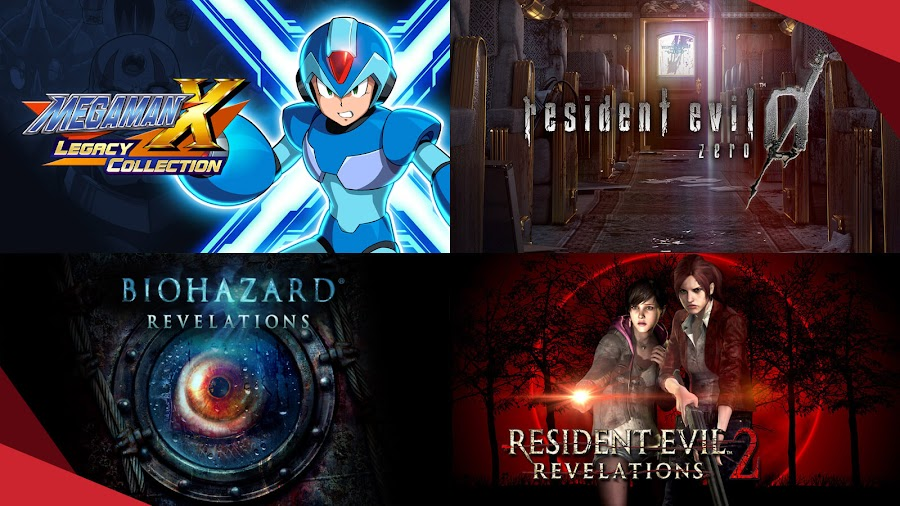 humble capcom mega bundle 2020 mega man x legacy collection re0 resident evil revelations 2
