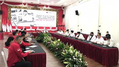 Petinggi PKS Sambangi DPP PDIP