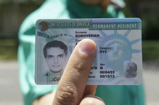 Green Card-الجرين كارد