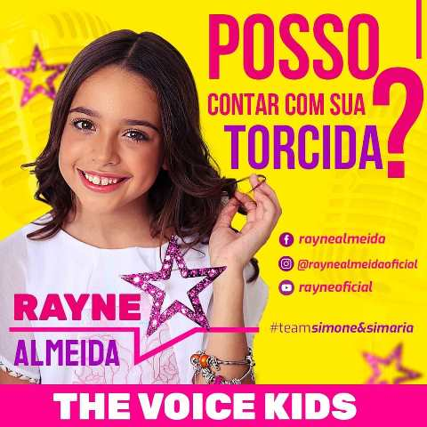 Rayne Almeida põem dupla Simone & Simaria pra chorar no palco do The Voice Kids