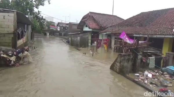 Banjir Susulan Rendam 6 Kecamatan, 1.390 Jiwa Mengungsi di Subang