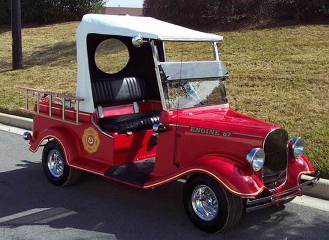 Just A Car Guy  Golf Carts That Get Attention