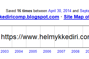 Cara memeriksa riwayat domain website