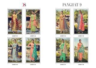 Deepsy Panghat Vol 9 Jam Cotton Ethnic Salwar Kameez