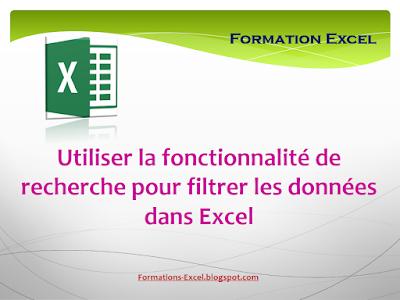 filtrer des données Excel