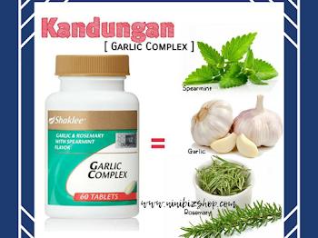 Kelebihan Dan Kebaikan Garlic Complex Shaklee