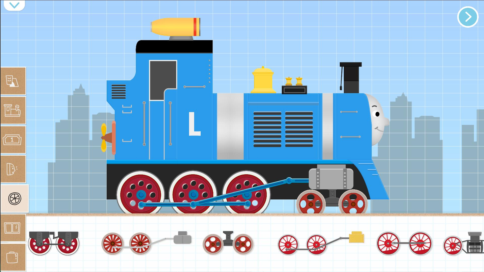 Game Kereta Api Terbaik di Android Brick Train