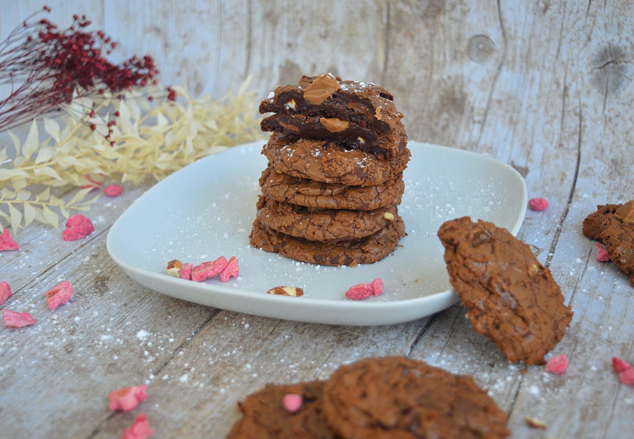 Cookies brownie recette