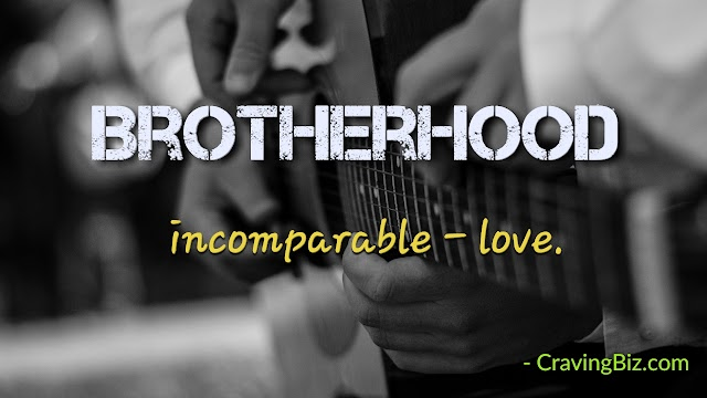 Brotherhood: Love Beyond Compare