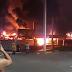 Voraz incendio acaba por completo con Chedraui de SanAndrésTuxtla