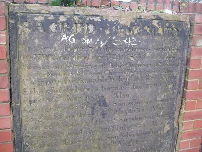 james scholefield memorial