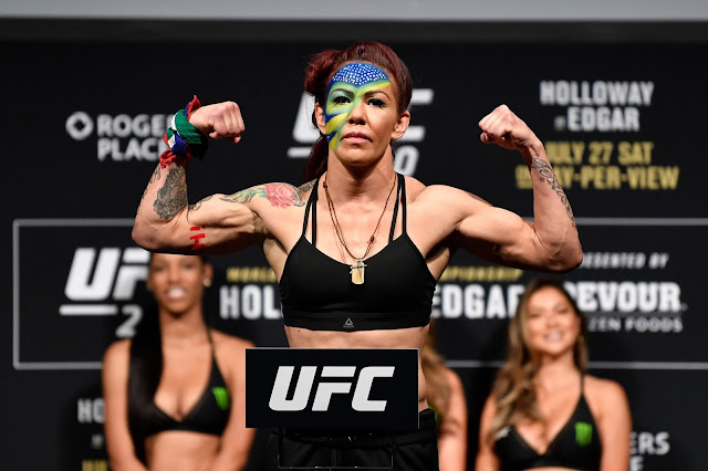 Cris Cyborg UFC weigh in