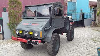 Dijual Truck Unimog 414 Diesel 1979 Limited MB