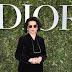 Bianca Jagger posa para fotos no lançamento da exibição 'Christian Dior, couturier du rêve' comemorando 70 anos de criação, em Paris, França – 03/07/2017