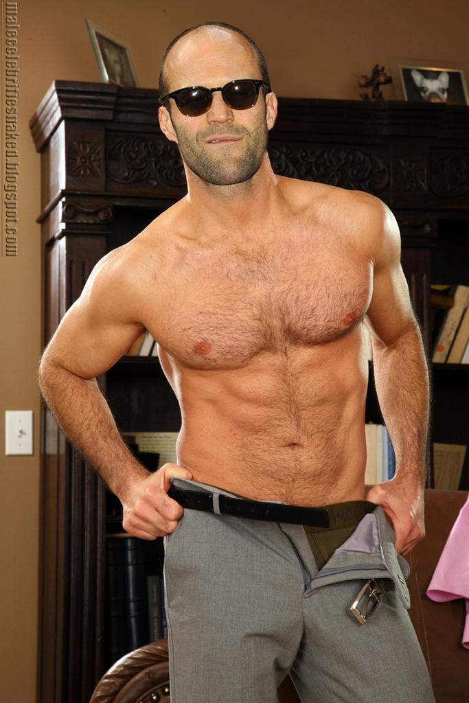 Malecelebritiesnaked: Jason Statham naked I