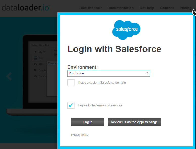 SFDC 3:16: Integrate and Use (Export, Import and Delete