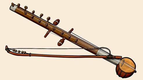 インドの弓奏弦楽器