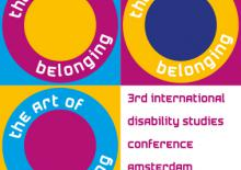 Logo 3rd  International Diasabilities Conference, Amsterdam 2017