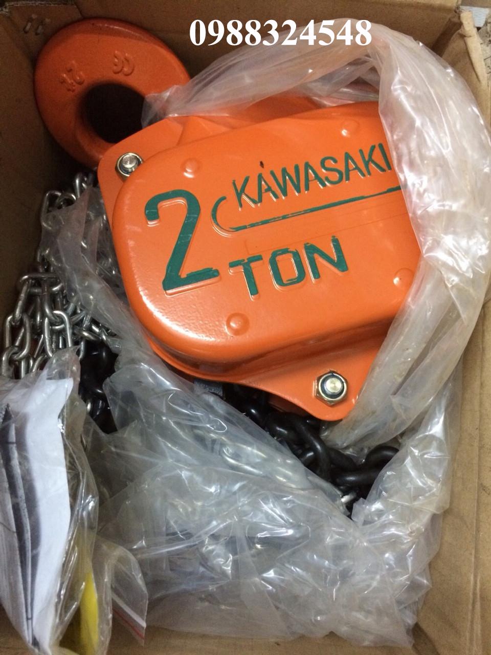 palang kéo tay Kawasaki 2 tấn
