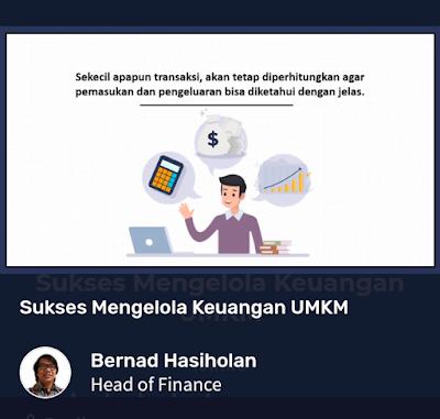 Kelas online sukses mengelola keuangan umkm di skill academy