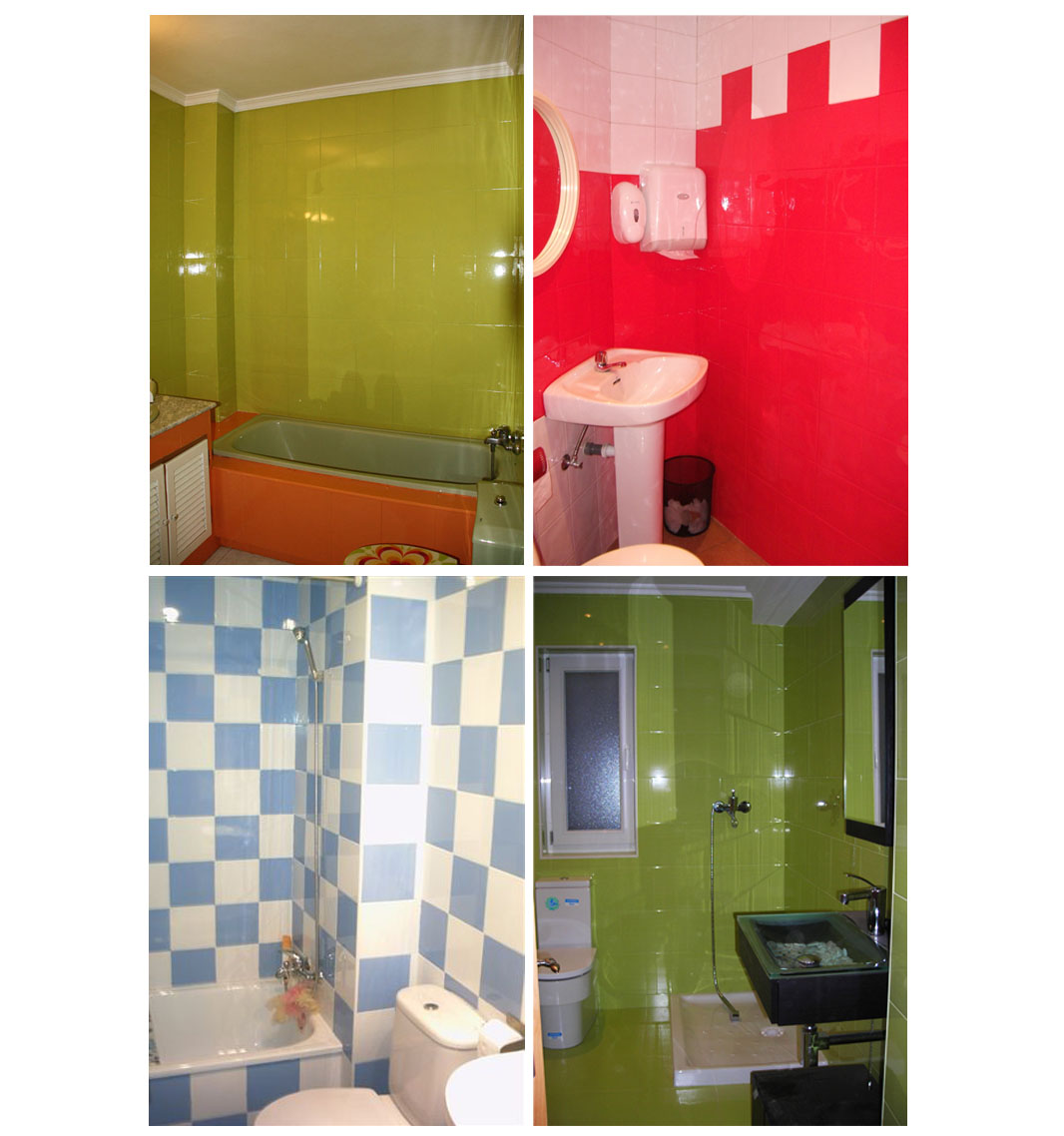 Mundocolor bruguer c mo renovar tu ba o o cocina f cilmente - Pintura azulejos colores ...