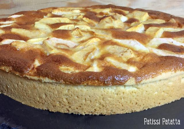 recette de tarte aux pommes, recette de pâte sablée, tarte aux pommes et mascarpone, cuisiner des pommes, cuisiner du mascarpone, tarte sucrée, tarte maison,
