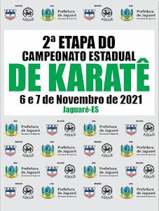 35º Campeonato Espírito-Santense de Karate - 2ª Etapa