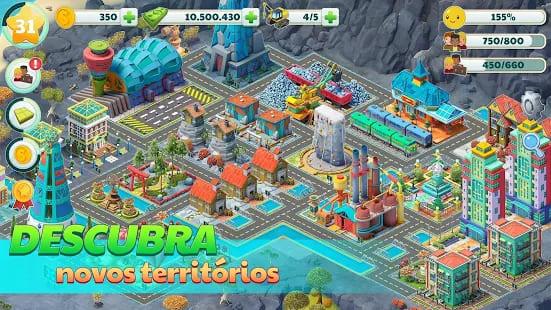Town City - jogos de simuladores casuais de construção de cidades