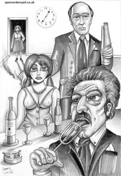 Original Art For Sale by Artist Spencer J. Derry