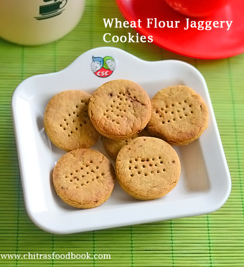 eggless wheat flour cookies