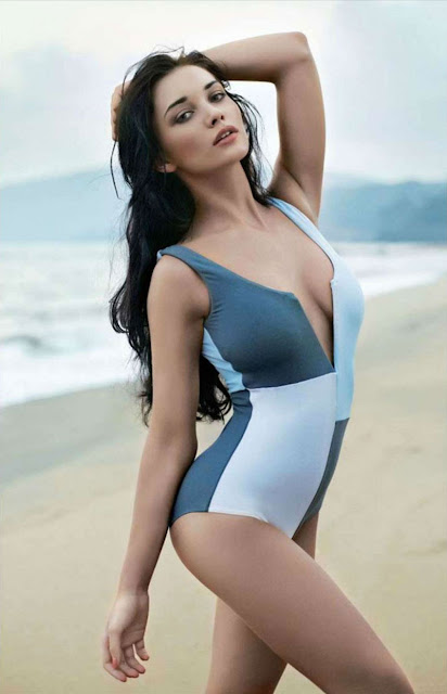 Amy Jackson's Maxim Bikini Photos May 2012