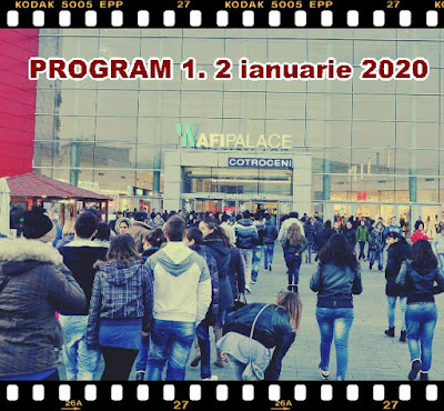 Orar 1 2 ianuarie 2020 AFI Cotroceni Mall, Plaza Romania, ParkLake Shopping, Băneasa Shopping, Veranda Mall