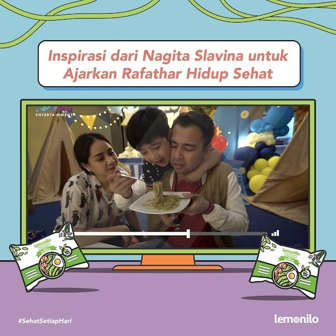 Inspirasi dari Nagita Slavina Untuk Hidup Sehat