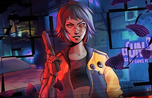 Glitchpunk - Imagine GTA 2 em um mundo Cyberpunk