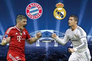 موعد مباراة ريال مدريد وبايرن ميونخ اليوم 12-4-2017 لقاء ربع نهائى دورى أبطال أوروبا