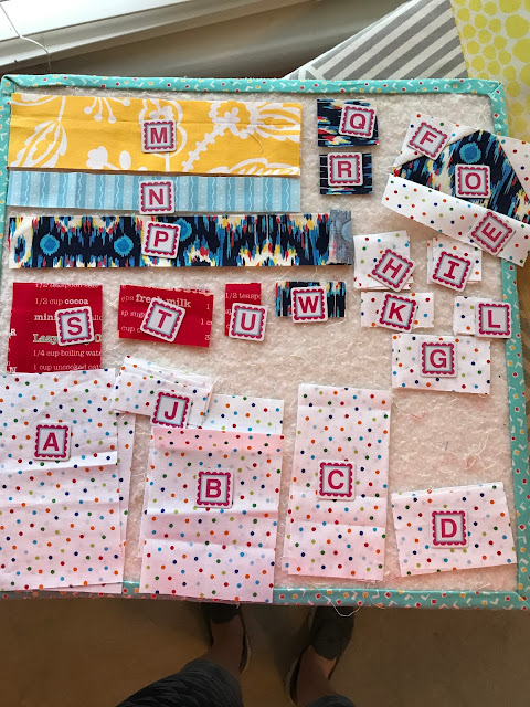 Quilty Fun Birthday Cake banner